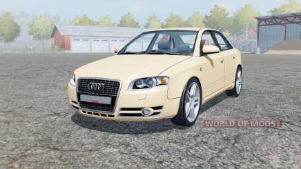 Audi A4 3.0 TDI quattro (B7) 2004 pour Farming Simulator 2013