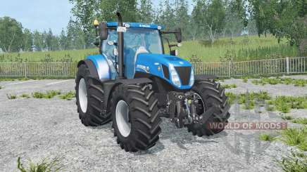 New Holland T7.270 new mirrors pour Farming Simulator 2015