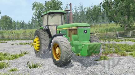 John Deere 4650 extra weights pour Farming Simulator 2015