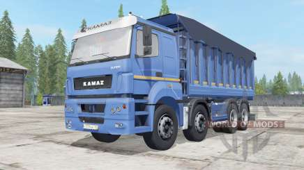 KamAZ-65201 avec priceon pour Farming Simulator 2017