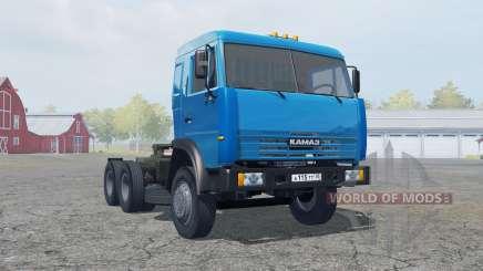 KamAZ-54115 Farbe blau für Farming Simulator 2013