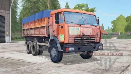 KamAZ-45143 und Nefas-8560 für Farming Simulator 2017