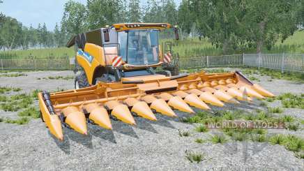 New Holland CR10.90 trois cutteᶉs pour Farming Simulator 2015
