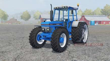 Ford 7810 added wheels für Farming Simulator 2013
