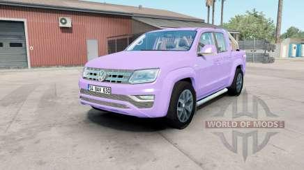 Volkswagen Amarok Double Cab Highline 2016 mauve pour American Truck Simulator