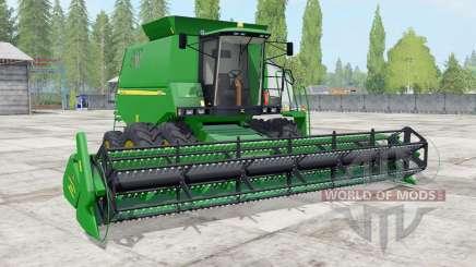 Johɳ Deere 1550 pour Farming Simulator 2017