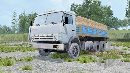KamAZ 55102 mit Anhänger für Farming Simulator 2015