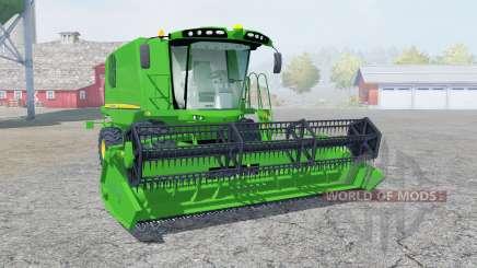 John Deere W540 pantone green pour Farming Simulator 2013