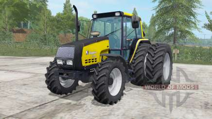 Valmet 6400 safety yellow für Farming Simulator 2017