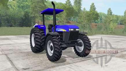 New Holland 7630 ultramarine für Farming Simulator 2017