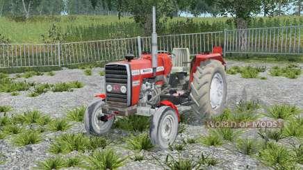 Massey Ferguson 255 without cab pour Farming Simulator 2015
