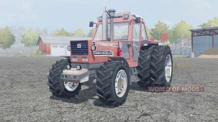 Fiat 180-90 Turbo DT dual rear wheels pour Farming Simulator 2013