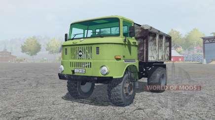 IFA W50 L olivine für Farming Simulator 2013