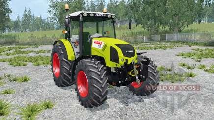 Claas Axos 330 peridot für Farming Simulator 2015