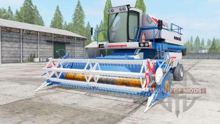 Ienisseï-950 couleur bleu pour Farming Simulator 2017