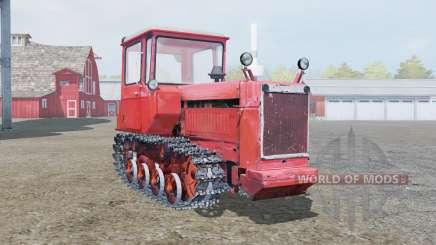 DT-75 doux de couleur rouge pour Farming Simulator 2013