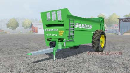 Joskin Siroko 4010-9V pour Farming Simulator 2013
