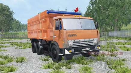 KamAZ-45143 und Nefas-8560 für Farming Simulator 2015