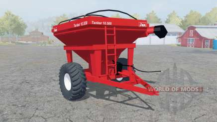 Jan Tanker 10.500 coral red pour Farming Simulator 2013