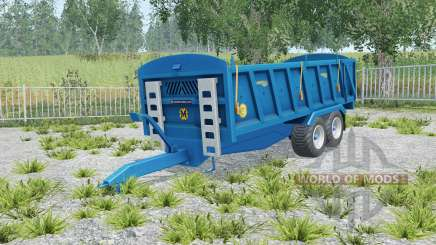 Marshall QM-16 correct sized wheels für Farming Simulator 2015