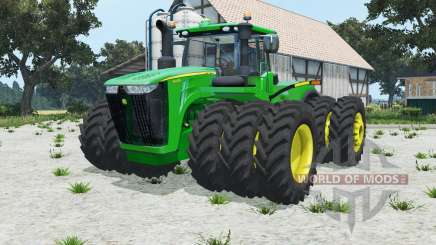 John Deere 9620R triples pour Farming Simulator 2015