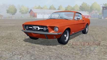 Shᶒlby GT500 de 1967 pour Farming Simulator 2013