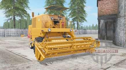Bizon Super Z056 _ pour Farming Simulator 2017