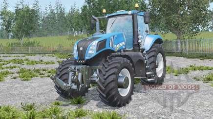 New Holland T8.320 real engine für Farming Simulator 2015