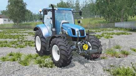 New Holland T6.160 real engine für Farming Simulator 2015