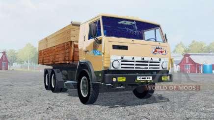 KamAZ-53212 soft orange Farbe für Farming Simulator 2013