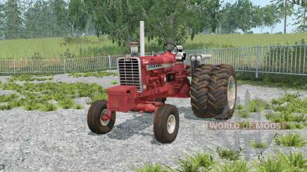 Farmall 1206 dual rear wheels für Farming Simulator 2015