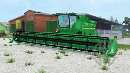 John Deere S690i pantone green pour Farming Simulator 2015