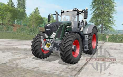 Fendt 930 Vario gable green pour Farming Simulator 2017