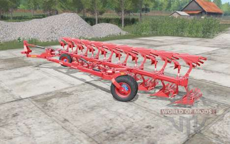 Lemken Diamant 12 red edition pour Farming Simulator 2017