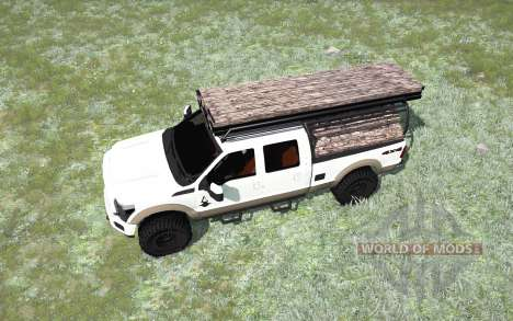 Ford F-350 King Ranch Crew Cab pour Spintires MudRunner
