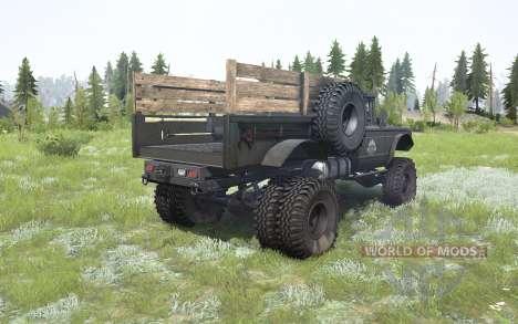 Kaiser Jeep M715 tundora pour Spintires MudRunner