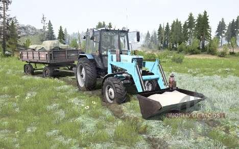 MTZ-82.1 Biélorussie soft-couleur bleu pour Spintires MudRunner