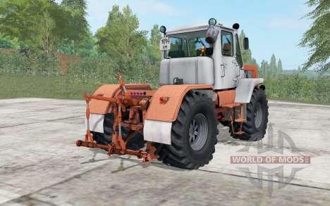 T-150K fort rouge pour Farming Simulator 2017
