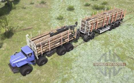 VTS de l'Oural-Polyarnik 8x8 pour Spintires MudRunner