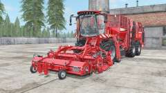 Holmer Terra Dos T4-40 coral red pour Farming Simulator 2017