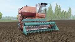 SK-5 Niva modérément couleur rouge pour Farming Simulator 2017