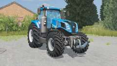 New Holland T8.320 lowering tire pressure pour Farming Simulator 2015