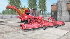 Grimme Tectron 415 red salsa pour Farming Simulator 2017