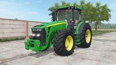 John Deere 8245R-8345R north texas green für Farming Simulator 2017