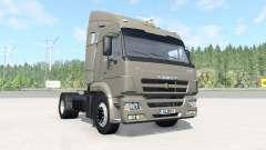 KamAZ-5460 dark Grau-orange Farbe für BeamNG Drive
