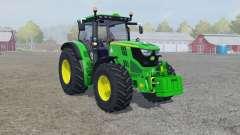John Deere 6150R froɳt loader für Farming Simulator 2013