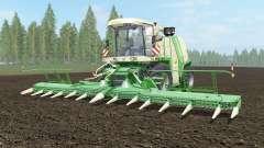 Krone BiG X 1100 light cream pour Farming Simulator 2017