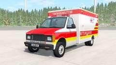 Gavril H-Series German Ambulance v1.1 für BeamNG Drive