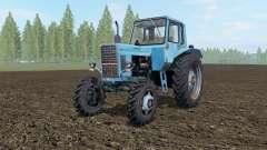 MTZ-82 Belarus blau Okas für Farming Simulator 2017