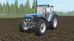 New Holland 8340 spanish sky blue pour Farming Simulator 2017
